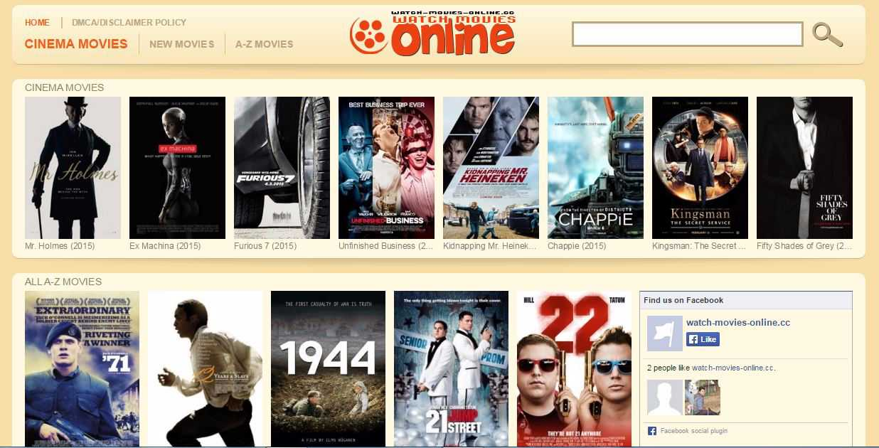 top ten movie sites online